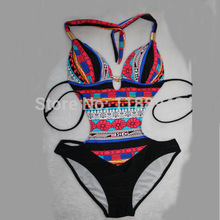 Details about Women Sexy Bohemia One Piece MONOKINI SWIMSUIT SWIMWEAR US SIZE S M L XL