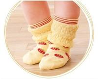 2015 New Winter Lovely Children Socks For 1-4 Years Old Printed Cotton Socks Warm Socks BB132
