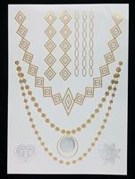 Wholesale new design jewelry tatto fashion easy to use gold tatto cheap tatto sticker, mixed designs 240pcs a lot  free shipping