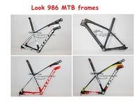 Free shipping! Look 986 Frame,Carbon MTB frame 26er 29er Frame BB30,29er mtb frame with Look stem 2 years warranty