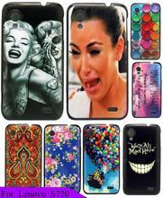 New Arrival Logo Beauty Monroe Skull Beauty Painting Custom Hard Plastic Protective Phone Cover Case For Lenovo S720 S720i