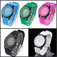 2014 Fashion Brand Sport Men Women Watch Silicone Diving Waterproof Dress Watch Clocks Military Quartz Wristwatch Free Shipping
