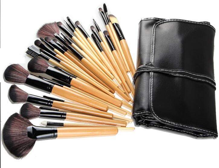 Кисти для макияжа Makeup Brush 2015 32 CPHB003 slim fan shape powder concealor blending finishing pinceau fond de teint makeup brush nail art brush for makeup cosmetics tool