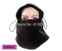 Hot Winter Outdoor Thermal Warm  Hood Police Swat Skiing Cap Fleece Ski Bike Scarf  Wind Stopper Ski Mask Hats  B374
