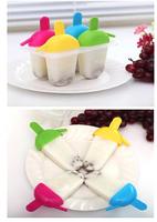 Creative practical ice cream silicone ice mold summer DIY homemade Popsicle ice lattice tools ice box fridge wholesale K201