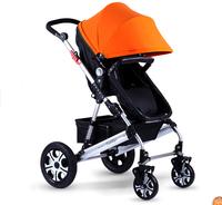 Baby stroller baby car shock absorbers stroller folding two-way