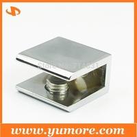 DHL Free Shipping 200Pcs Zinc Alloy Square Glass Clamp,Glass bracket,Glass holder Small Size