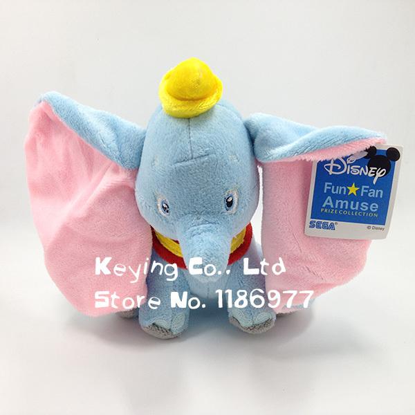 Disny Dumbo Cute Elephant Soft Stuffed Animals Plush Toy Doll Gift for Baby Girl Birthday Christmas Gift(China (Mainland))