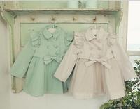 girls trench coat children coat 2014 autumn spring outwear kids jackets winter jacket children girls