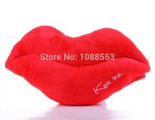 erstaunlich weihnachten& Silvester Geschenk- sexy rote lippen kuschelig gefüllt handwärmer rote lippe kissen kissen stützen valentinstag geschenk(China (Mainland))