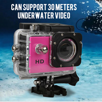 Mini Camcorders Action Camera Full HD720P DVR Sport DV Support 1080P Waterproof 1.5 inch Motor DV 170 Wide Angle EU plug