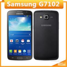Original Samsung Galaxy Grand 2 G7102 Cell Phone 8MP Camera GPS WIFI Dual SIM Quad-core Refurbished Mobile Phone Free Shipping(China (Mainland))