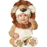 Newborn Toddler Infant Jumpsuit Velvet Lion King Costume Kids Outfits Baby Boy Rompers + Hat + Shoes Clothing Sets 0-2Y 4pcs
