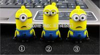 Milions Cute Cartoon USB Flash Drive 2.0 Connector For Computer Plastic Pendrive 8 16 32 64GB Pen Drive Memory U Disk