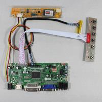 "HDMI+VGA+DVI+Audio LCD Controller board M.NT68676 for 15.4"" B154EW01 1280*800 lcd panel"