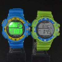 Women Men LED Electronic Multifunctional 30m Waterproof Swim Digital Rubber Wrist Watch 938D
