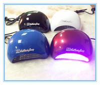 Nail Tools 3 Colors Fashion And Beautiful Nail Lamp 18W LED Long Bright Nail Lamp 10-20s Fast Dry Led Light Nail Art Dryer
