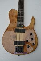 New 5 string guitar natural yellow slash electric guitars free shipping