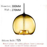 Modern Pendant Lighting Niche Glass Stamen Design Hanging Lamp Vintage Edison bulb Light Fixture Lustres Abajur Luminarias