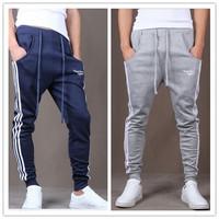 Outdoors Cargo Loose Trousers Men Sweat Harem Sport Joggers Pants Hip Hop Slim Fit Sweatpants for Dance Sports Pants CX850794