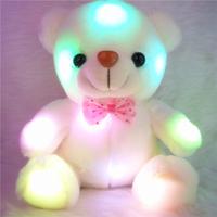 Luminous plush toys Teddy Bear Creative children's toys New Year's gift and children gift  Baby sleeping toy