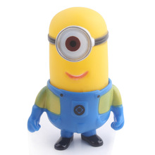 Small Yellow Man One Eye High Quality Plastic Toys For Pet Puppy Toys Cute Dog Pet Fashion Playing Big Dog Toys K0023 Ig