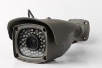 Wireless Auto Zoom Infrared Waterproof 1280*720P OV9712d  CMOS Sensor 50M IR Distance Bullet Video CCTV IP Camera/IPS-613