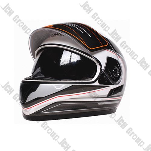 TK 809 E Grey Stripes Full face helmet inside goggle double visor Stylish Tanke Motorcycle helmet ECE Good Casco Capacete(China (Mainland))