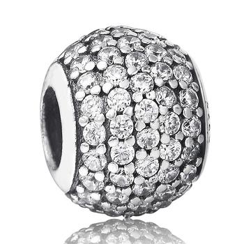 Оптовая продажа великолепная стерлингового серебра 925 пробы светит круглые ювелирные ...