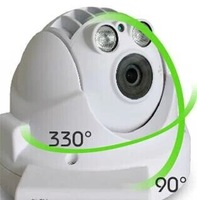 ONVIF Wireless PTZ Dome IP Camera 720P Full HD with Zoom Two Way Audio Micro SD/TF Card Slot