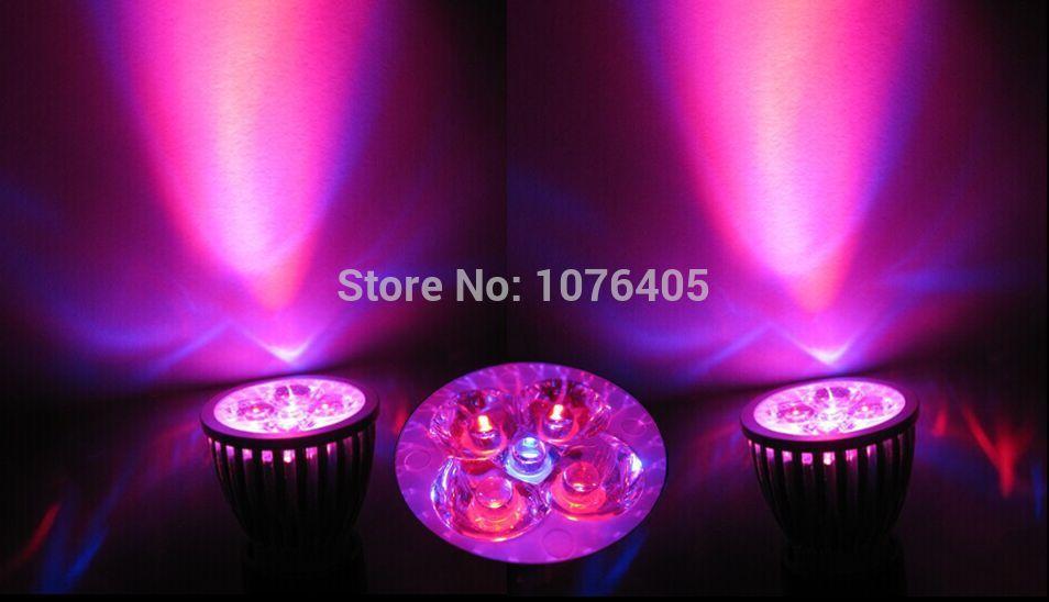 10pcs/lot customize colors full spectrum led grow light Smallest Real 5w NO fake15w E27 led grow lamp led bulb for flowering(China (Mainland))