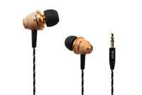 Free Shipping Fashion Awei Q5 Wooden Earphone 3.5mm Mobile Phone MP3 Earphone Headphones