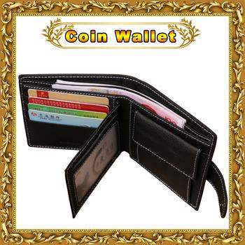 Оптовая продажа известный бренд мужские из натуральной кожи кожаный бумажник с кармана ...
