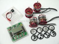 4xEMAX CF2822 1200KV Brushless Motor + 1x KK2.15 LCD Flight Control Board w/case