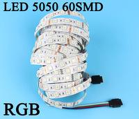 5m 300 LED 5050 SMD 12V flexible light 60 led/m,LED strip, RGB/white/warm white/Red/Green/Blue/Yellow