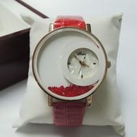 Fashion & casual high quality fashion big dial flow wholesale men's and women's fashion rhinestone Dress Watches