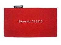 GOOD BULK PRICE Women Fashion Red Purse Ladies Felt Clutch Wallets