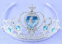 Hight quality Plastic Frozen elsa crown for kids