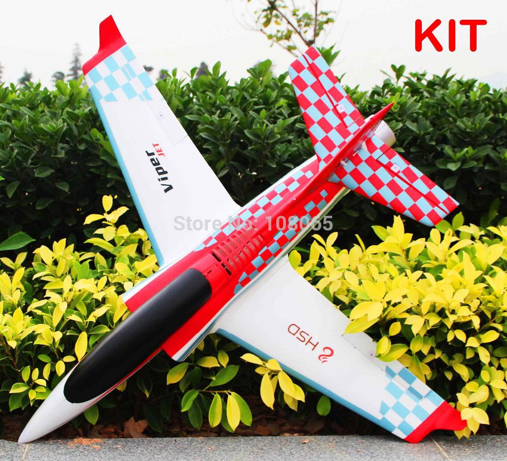 New! HSD 75mm Viper jet plane Kit format RC model aircraft(China (Mainland))