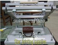 New Cylindrical screen printing machine Small model for pen printing, mug printing, bottle printing .+ Mug clamp fixture