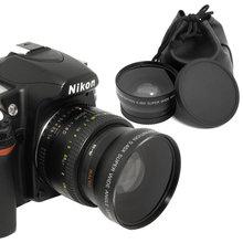 Xcsource Digital 0.45x 52mm Wide Angle Macro Lens for Nikon D80 D90 D3000 D3200 D300 LF36-SZ