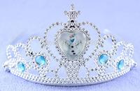 Frozen elsa tiara crown Snow baby crown, mini Plastic tiara
