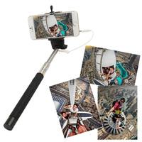 Portable Handheld  Monopod Extendible Self-portrait Selfie Cell Phone Holder Digital Camera Extender For Smartphones