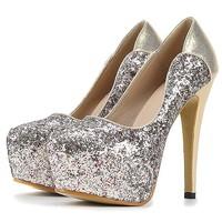 women shoes New arrival fashion pumps women high heels platform thin high heel pumps for women gold pumps silver shoes