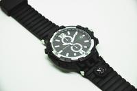 HD 720p 8GB watch camera IR night vision mini DVR recorder sport wrist watch leather watches fashional Compass 307 black/brown