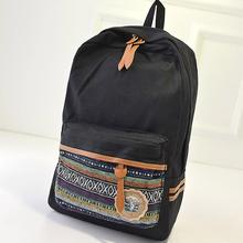Casual National Canvas Campus Student School Bag Men Backpacks(China (Mainland))