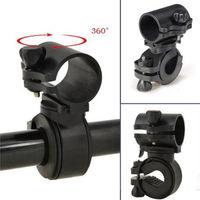 1PCS 360 Degree Multi-Function Bike Bicycle Scope Mount Clip Clamp LED Flashlight Torch Holder
