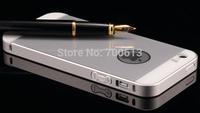 Luxury Metal Aluminium Case Bumper PC Back Cover for iPhone 5 5s