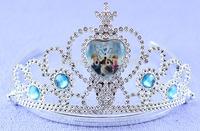 Plastic Frozen elsa tiara , Kristoff crown and tiara
