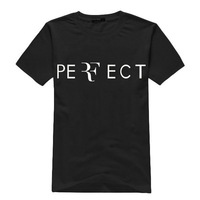 RF Tennis  T-shirt Handsome Men t-shirt Top Fashion Design A Package Of Post S - XXL RF Tennis tshirt